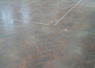 School Hall Sanding in Hounslow