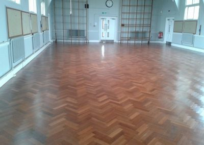School Hall Floor Sanding in Hounslow