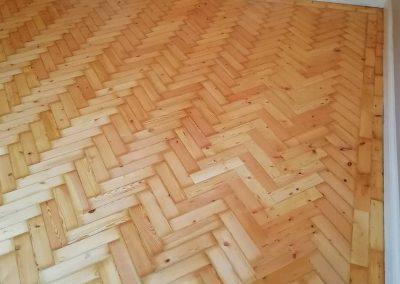 Wood Floor Restoration in Windlesham