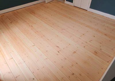 Floor restoration in Kew