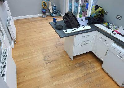 Wood Floor Restoration in Camberley